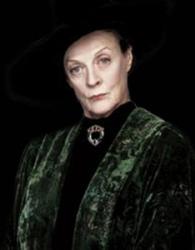 Hogwarts Headmistress Minerva McGonagall
